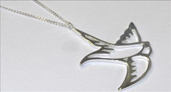 alisha - AYN 479 STERLING SILVER NECKLACE