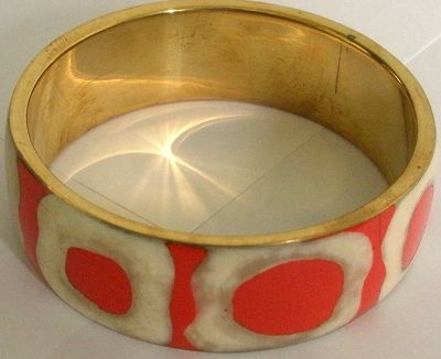 snazzy jazzy - ORANGE COUNTRY BANGLE