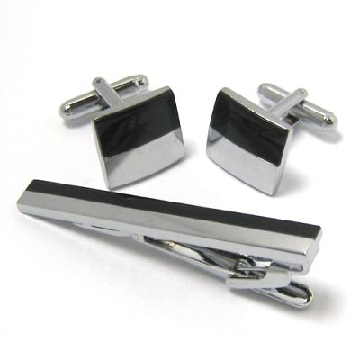 lumiere collection - LUMIERE - CUFFLINKS & TIE PIN PACK