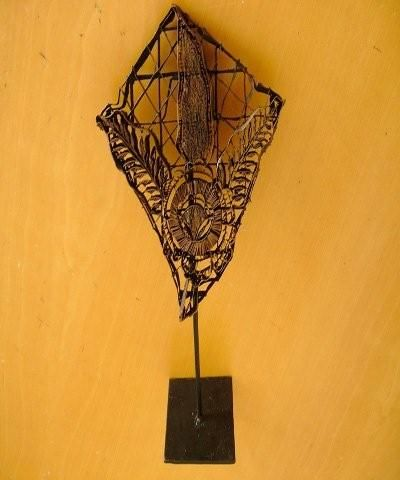 chs wholesalers - AUTHENTIC  BATIK COPPER ORNAMENT