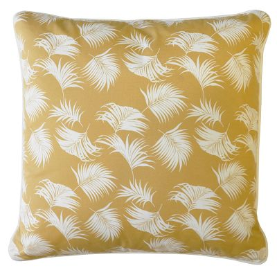 escape to paradise - CARAMEL PALMS 60CM X 60CM CUSHION