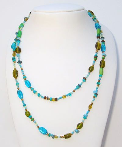 sondaria  - BULK BUY 12 MEDITERANIAN NECKLACES